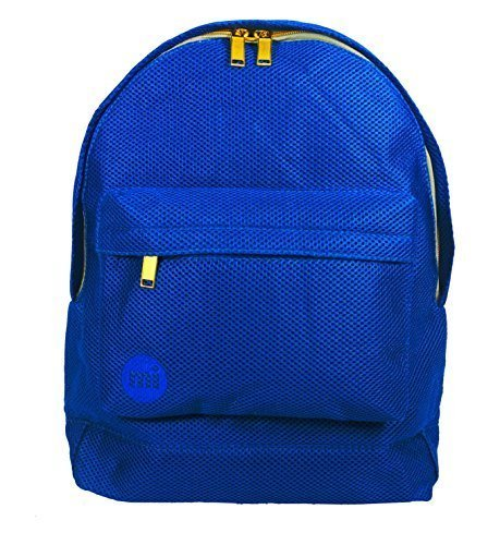 "Mi-Pac, Zaino, modello ""Gold"", Nero (Python Black) Blu (All Mesh Blue)"