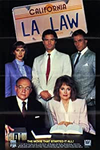 L.A. Law Poster Movie 11 x 17 In - 28cm x 44cm Michael Tucker Jill Eikenberry Harry Hamlin Richard Dysart Jimmy Smits Alan Rachins