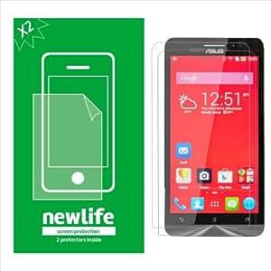 New Life Original HD Clear x 2 Screen Guard for Asus Zenfone 6 A600CG/A601CG