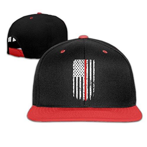 Thin Red Line Flag Men's Hip Hop Baseball Cap Ssc Cap