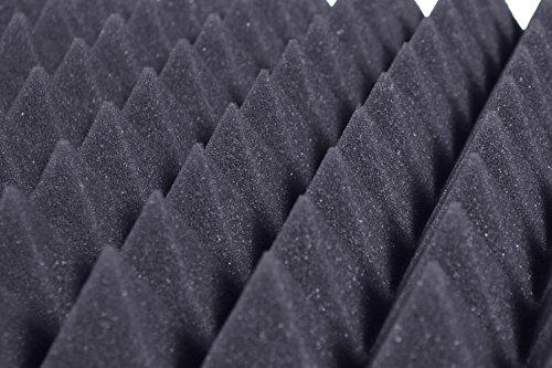 Pannelli Fonoassorbenti Piramidali Isolanti acustici 50x50x6 D21 Pacco da 10