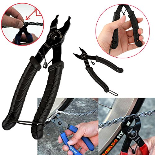 Forfar Bike Zange Werkzeug Fahrradkette Quick Link Entfernen Reparatur Stahl plier Handwerkzeug Grip Fahrradfahrer Reparatur - 8