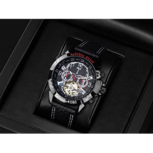 51xTloHdelL. SS300  - Calvaneo-107630-Reloj-correa-de-cuero-color-negro