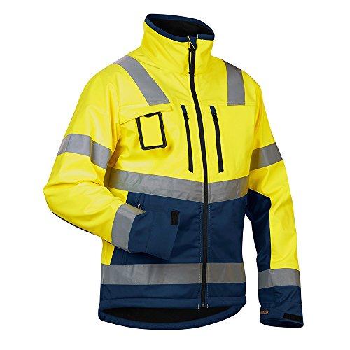 """Blakläder Softshelljacke """"High-Vis"""" Klasse 2 Größe XXL in gelb/marineblau , 1 Stück, , 490025173389XXL Gelb / Marine"""