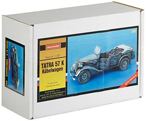Plus model - modellino auto tatra 57 k jeep scala 1:35