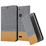 Cadorabo Book Case works with WIKO VIEW 2 PLUS in LIGHT