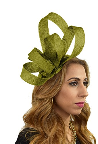 Hats By Cressida - Capeline - Femme taille unique vert olive