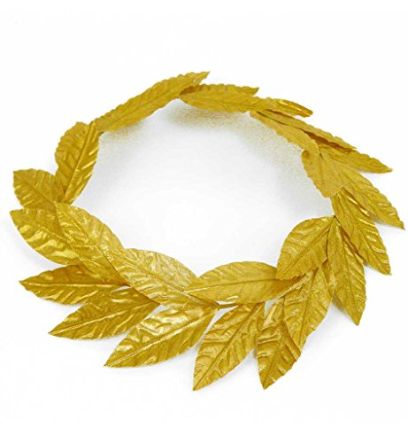 Laurel Wreath, Gold, Romans, Carnival, Party, supplies, Post Royal