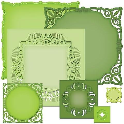 Spellbinders - Fustelle decorative di forme geometriche varie