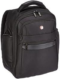 """Wenger W73012215 Business Basic - Mochila con compartimento para portátil (15"""", 27 L), color negro"""