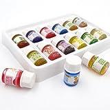 Yibenwanligod Lot de 12 huiles essentielles de 3 ml comprenant : lavande, jasmin, romarin, Osmanthus, arbre à thé, violet, santal