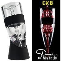 CKB Ltd Premium brevettato Triple Action aeratore del vino ossigenatore Sapore Bouquet Enhancer Gadget bere (Boxed Tubo)