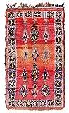Trendcarpet Tappeto Berberi dal Marocco Boucherouite 215 x 120 cm