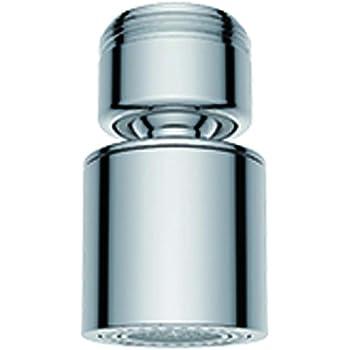 Hibbent Rompigetto per Rubinetti Aeratore per rubinetto filtro risparmio idrico con guarnizione per cucina e bagno M24