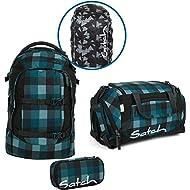 Satch Sac à dos d'écolier Set de 4Pièces Pack Blue octets 9h4Blue octets