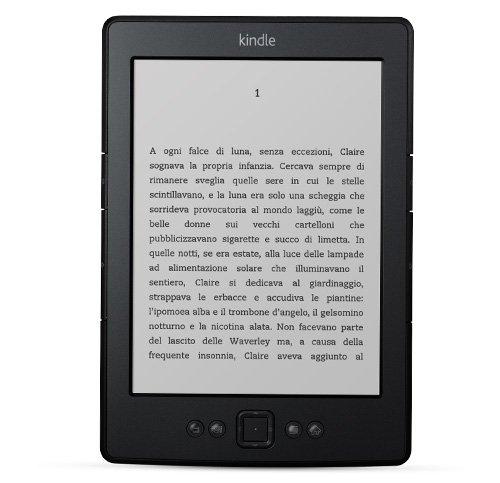 """Foto Kindle, schermo da 6"""" a inchiostro elettronico, Wi-Fi (Generazione precedente - 5ª)"""