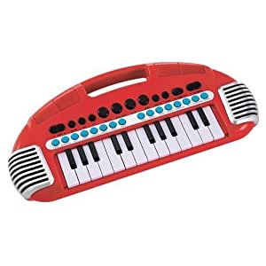ELC RED CARRY ALONG KEYBOARD CHILDRENS KIDS MUSICAL TOY - NEW