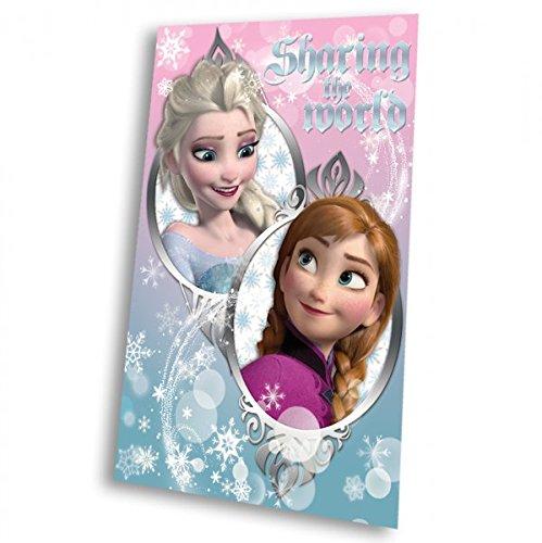 Manta polar Frozen Disney Sharing the World