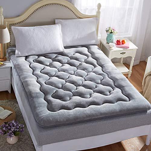 Gfyl materassi futon tappeto tatami futon giapponese materasso per pavimento antibatterico antiscivolo portatile, materasso singolo per dormitorio per studenti,d,120 * 200cm(47 * 78inch)