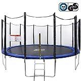 ANCHEER Fitness Trampolin Indoor Garden Jumping Rebounder für Aerobic-Übungen (Größe:91-137 CM, ) (427 CM)