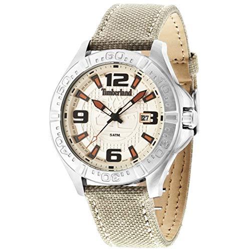 TIMBERLAND Reloj Analógico para Hombre de Cuarzo con Correa en Nailon TBL.14643JS/07