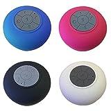 Cewaal Altoparlante portatile Bluetooth wireless impermeabile Altoparlante a vuoto per musica da doccia