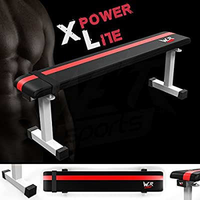 We R Sports™ FT100 Flat Weight Bench - White, from We R Sports