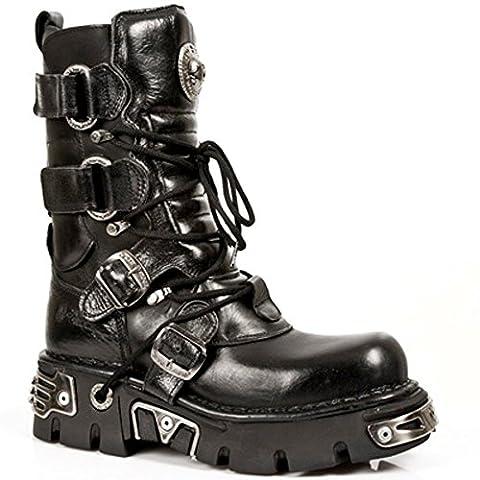 New Rock Boots Unisexe Botte - Style 575 S1 Noir 43 EU