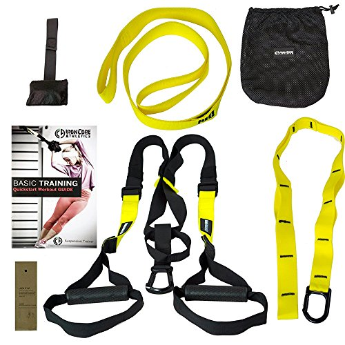 Kit Entrenamiento en Suspension cuerdas ajustables cintas