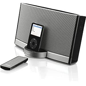 bose sounddock ii soundsystem f r apple ipod schwarz. Black Bedroom Furniture Sets. Home Design Ideas