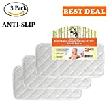 Best BAMBOO dryers - Quilted Non-Slide Bamboo Changing Pad Liners 3/PACK –71x36 Review