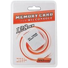 Tarjeta de memoria de gran capacidad (128MB) para consola Nintendo GameCube o Wii