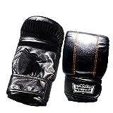 Nicololfle Boxhandschuhe Muay Thai Training Maya Leder Sparring Boxsack Mitts Kickboxen Kämpfen
