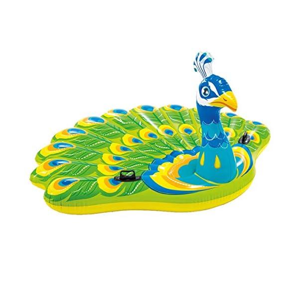 Intex 57250 - Isola Pavone, Multicolore, 193 x 163 x 94 cm 3 spesavip