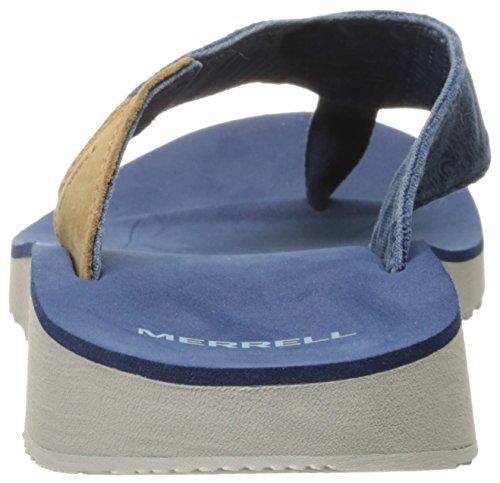 Merrell Duskair Flip Sandale Navy