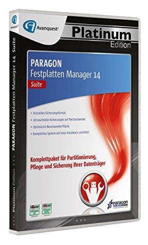 Paragon Festplatten Manager 14 Suite - Avanquest Platinum Edition
