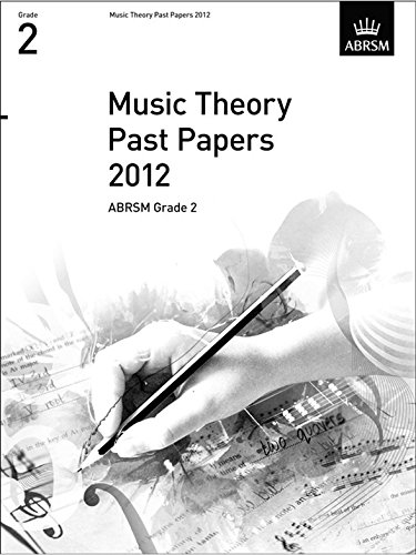 ABRSM Theory Of Music Exams 2012: Test Paper - Grade 2 - Sheet Music