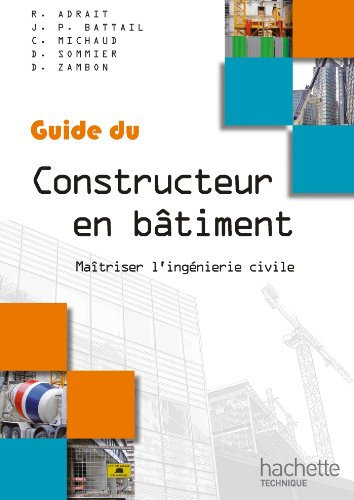 Guides industriels, guide du constructeur en bâtiment