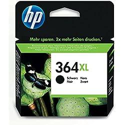HP CN684EE BAI, Cartucho de tinta Original HP 364 XL de álta capacidad para HP DeskJet, HP OfficeJet y HP PhotoSmart, 550 páginas, Negro