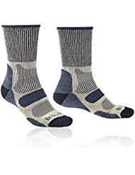 Bridgedale Men's Hike Lightweight Cotton Cool  Comfort Socks