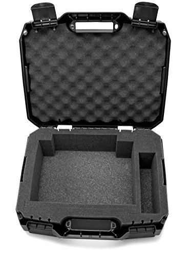 CASEMATIX Projector Travel Case Designed for Viewsonic PA503S / PA503W / PA503X / PG703W / PG703 WXGA XGA SVGA Projectors
