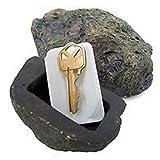 Key Safe Stash hohler Fels mit Schlüssel-Home Garten-Dekor-Geschenk