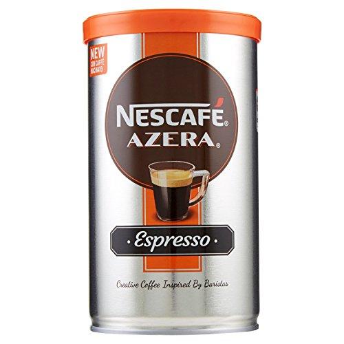 NESCAFÉ AZERA ESPRESSO Caffè solubile con caffè finemente macinato 3 barattoli da 100g (300g)