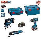 Bosch Kit PSL3WGSM2A (GST 18 V-LI + GOP 18 V-EC + GSR 18 V-EC + 2 x 4,0Ah + L-Boxx 238 + L-Boxx 136)
