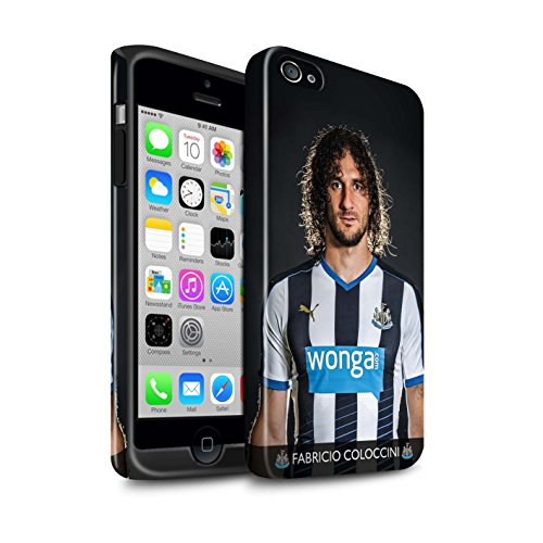 Offiziell Newcastle United FC Hülle / Glanz Harten Stoßfest Case für Apple iPhone 4/4S / Pack 25pcs Muster / NUFC Fussballspieler 15/16 Kollektion Coloccini