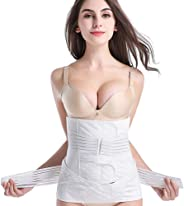 Postpartum Support Recovery Belly Belt, Abdomen With Breathable Postpartum Gauze Abdomen With Two Sets Of Planing Laparotomy