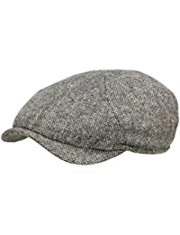 5cdbd09ea73 Wigens Newsboy slim cap 110215 Ballonmütze Schirmmütze Newsboy Cap - Dark  Grey Melange