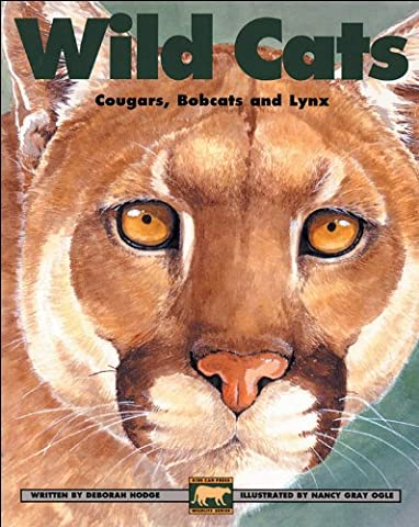 Wild Cats: Cougars, Bobcats and Lynx (Kids Can Press Wildlife (Paperback)) (Bobcat Lynx)