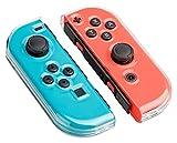 Nintendo Switch Schutzhülle transparentes Gehäuse für Joy Con Controller Skin - Transparent