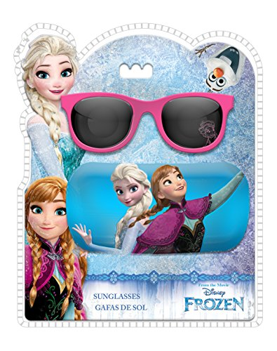 Disney frozen – occhiali sole e custodia, kids wd19101)